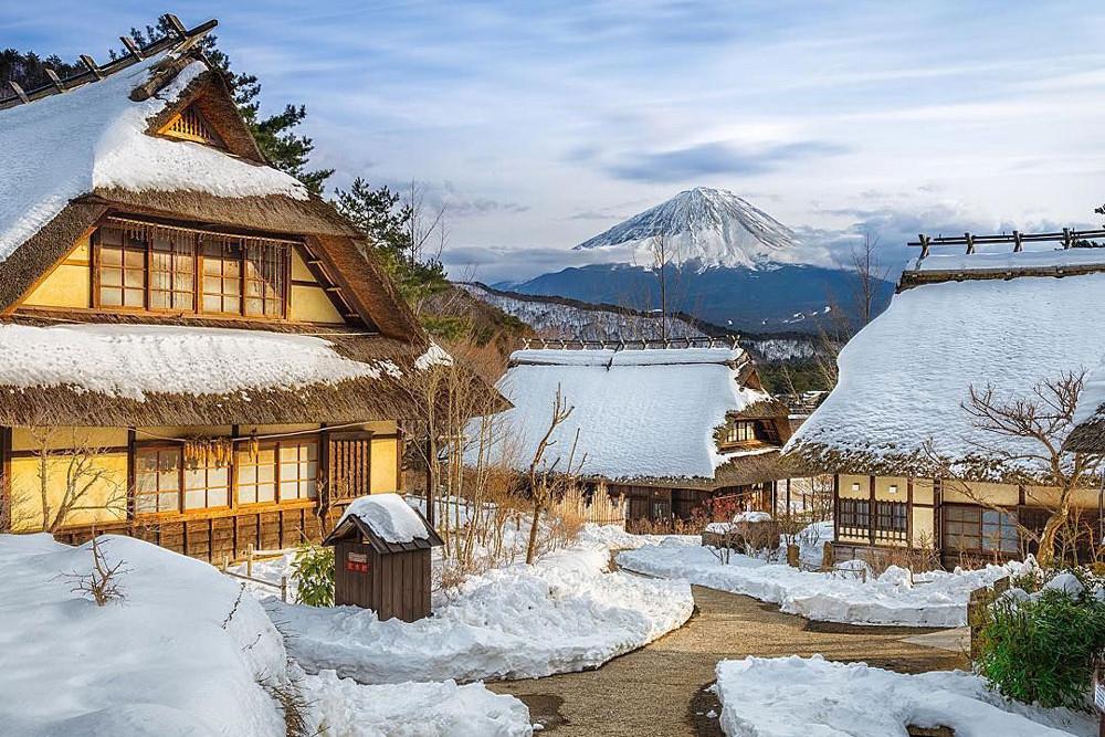 Посёлок Фудзикавагутико