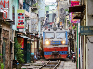 vietnam hanoi rails