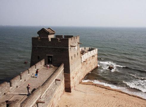 Лаолонгтхоу - начало Великой Стены
