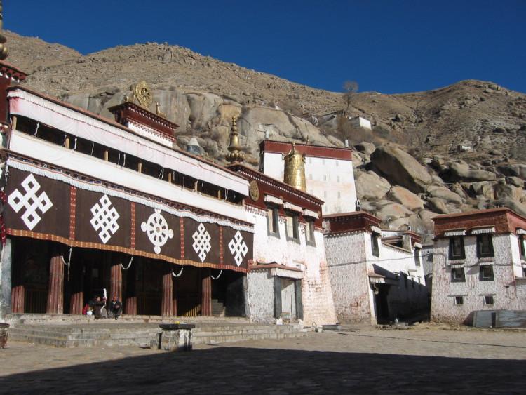 Монастырь Сэра, Тибет, г.Лхаса, Китай