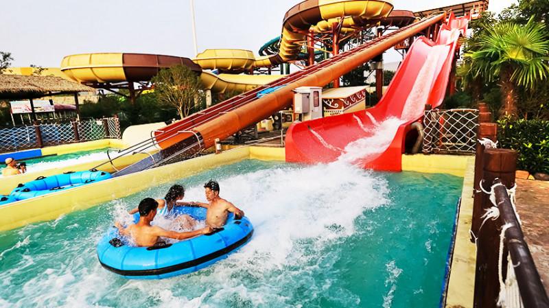Playa maya аквапарк, Шанхай