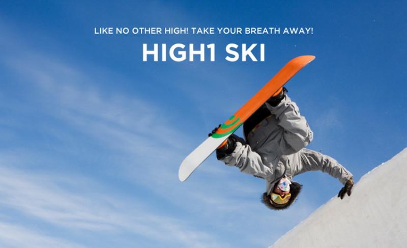 high 1 ski 7