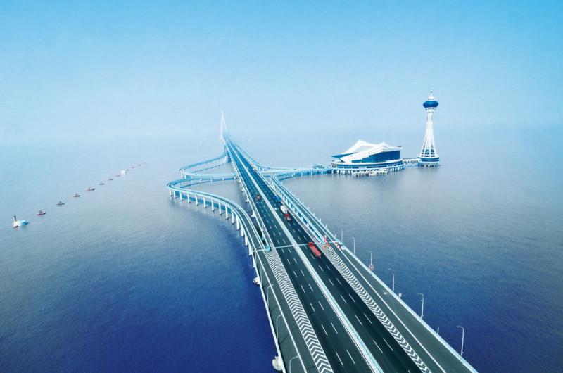 Мост Ханчжоу, Китай