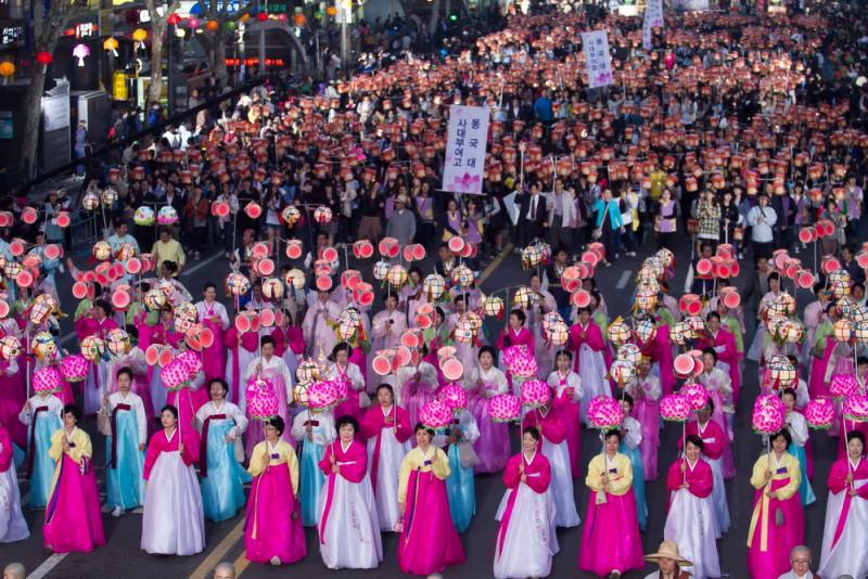 Фестиваль лотосовых фонарей