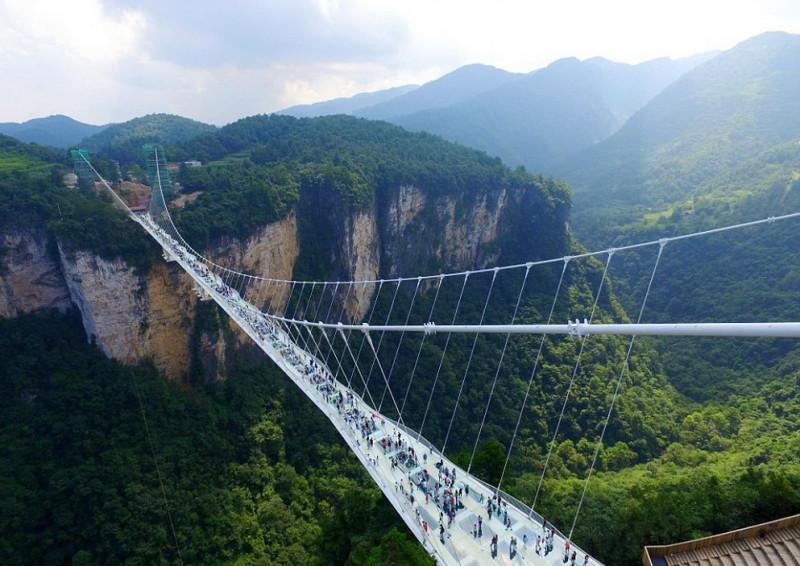 Горы Аватар, Китай